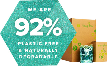 We are 92% plastic free & naturally degradable