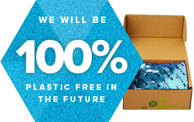We will be 100% plastic free in the future